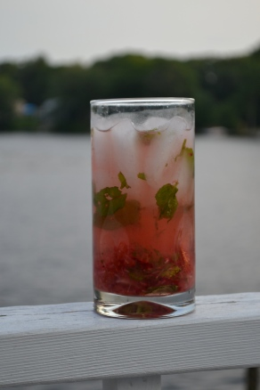Strawberry Mint Cooler