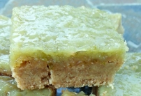 Secret Vegan Lime Bars