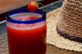 Strawberry Pomegranate Margaritas
