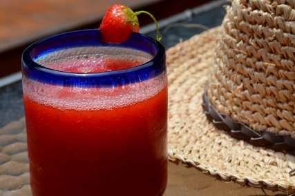 Strawberry Pomegranate Margaritas