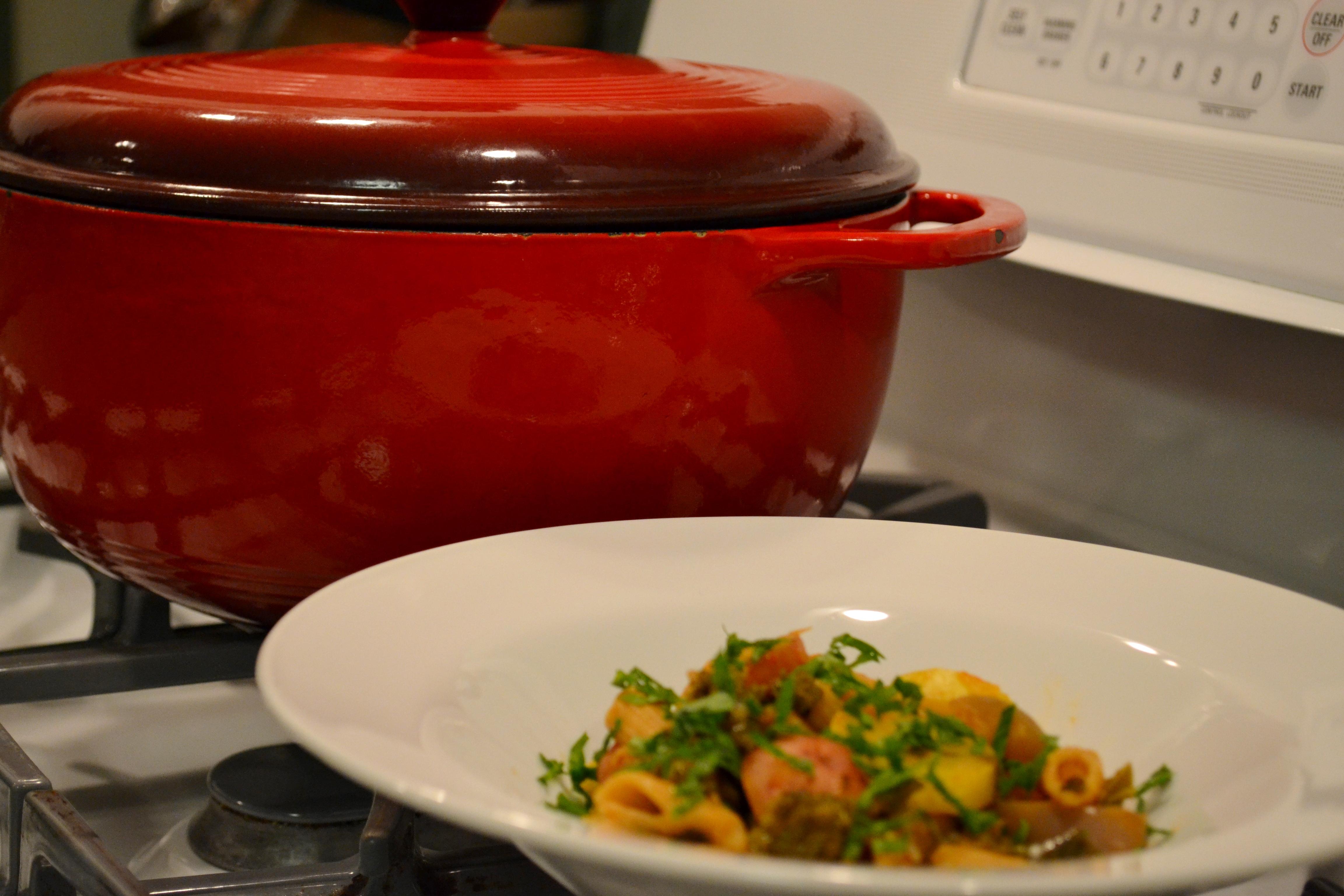 One-Pot Veggie & Penne Supper